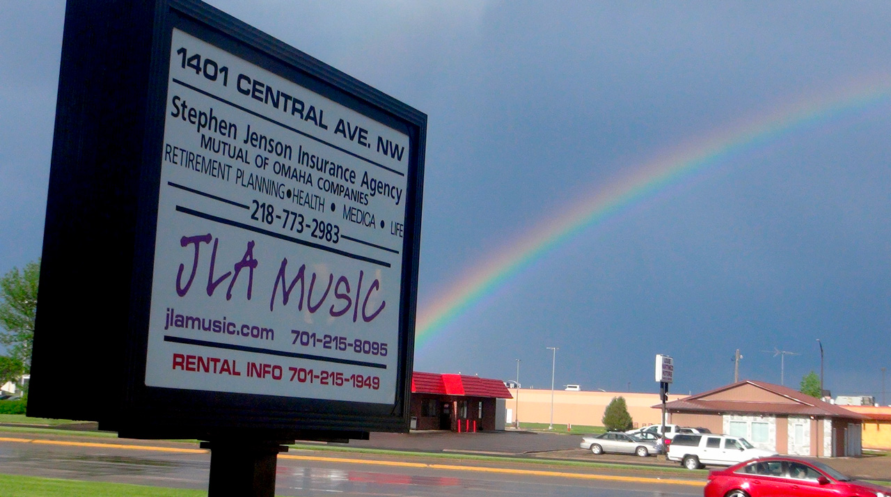 Rainbow at JLA Music